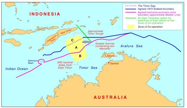 Timor Sea treaty arrangements.
