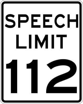 speech-limit-112