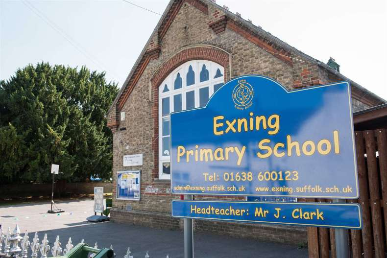 A 'protective bubble' from Exning Primary School are in self-isolation after a pupil tested positive for coronavirus.. Picture: Mark Westley