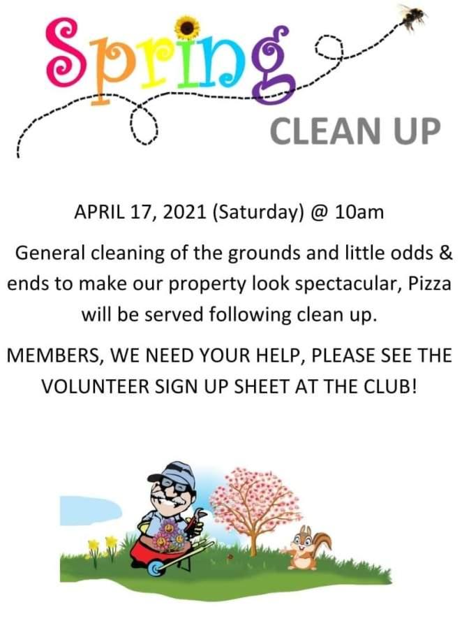 April 2021 Spring Cleanup