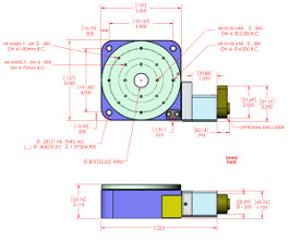 RT-5 Rotary Stage with Stepper Motor