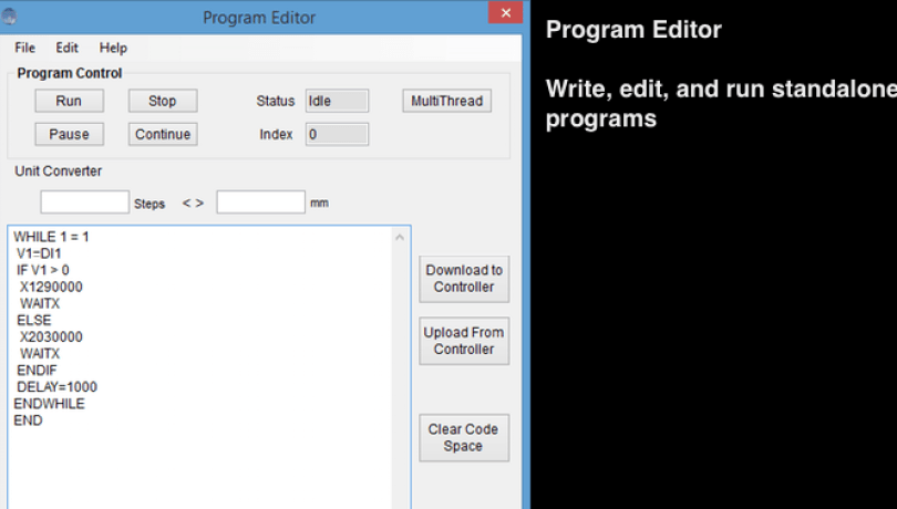 QuickMotion-program-editor