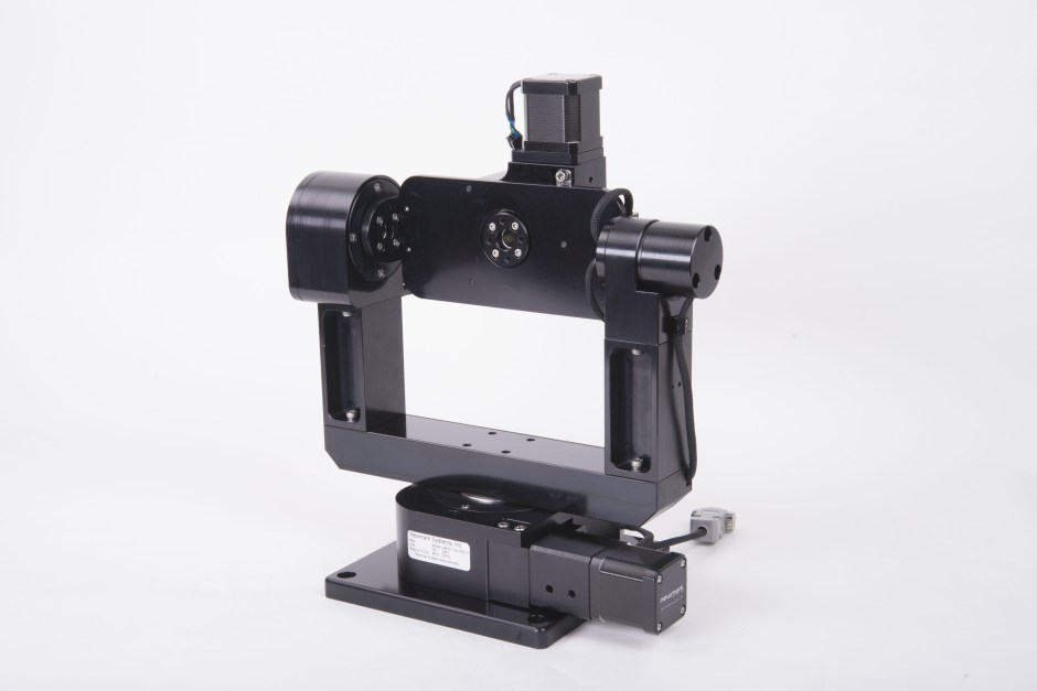3 axis motorized gimbal mount
