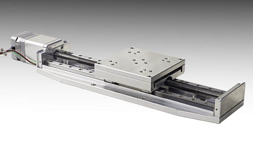 NLS4 vacuum compatible linear positioner