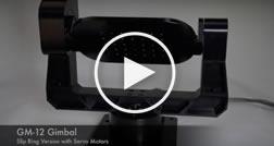 motorized 2 axis gimbal mount