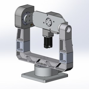 GM-12R 3 axis gimbal mount