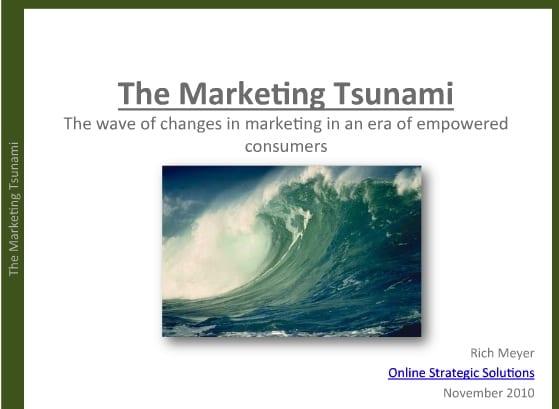 marketing tsunami