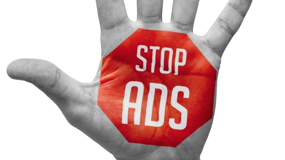 Stop interrupting consumers with ads