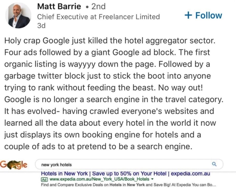 Google, Amazon & Facebook: Total control over the Internet