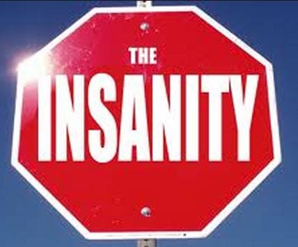 <b>Stop the insanity:</b> <b>TV</b> ads are supposed to sell products