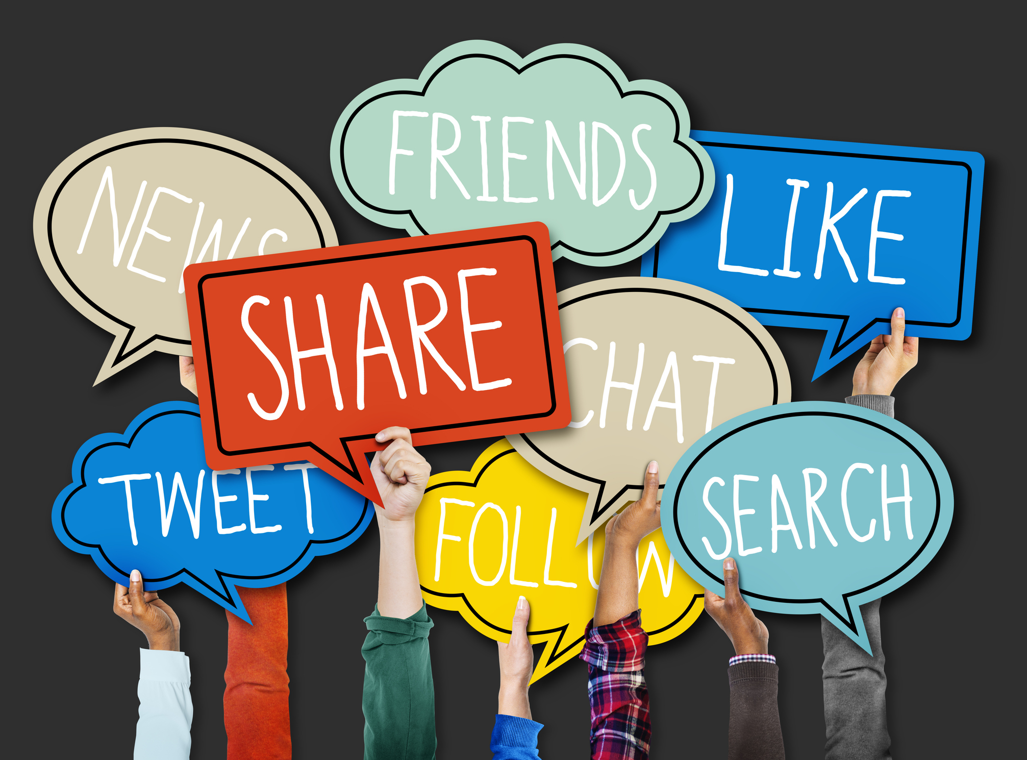Are consumers really following brands on social media?