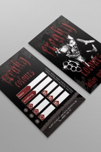Freaky Colours Tattoo, Banner, Plaket und Flyer