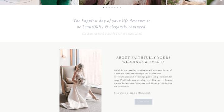 Faithfully Yours Weddings & Events