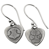Nose Print Necklace | Dog | Cat | Jewelry | Pet | Ring