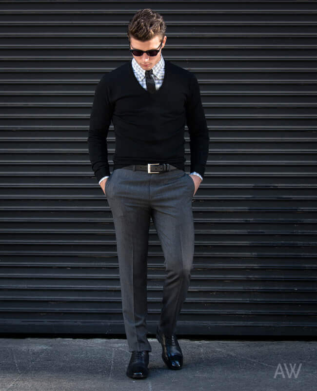 Men's Formal Sweaters-7