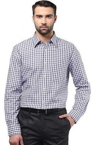 Printed Formal Shirts For Men-5