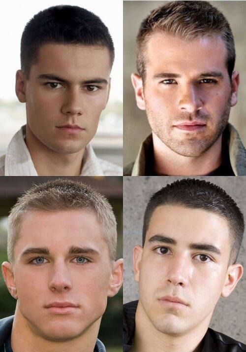 Buzz Haircut For Men