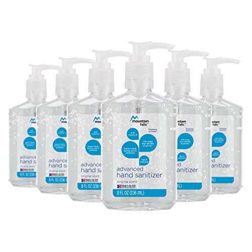 Mountain Falls Advanced Hand Sanitizer-Best Hand Sanitizer Of 2020