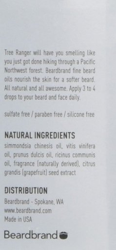 Beardbrand Tree Ranger Beard Oil- The best beard oil for men