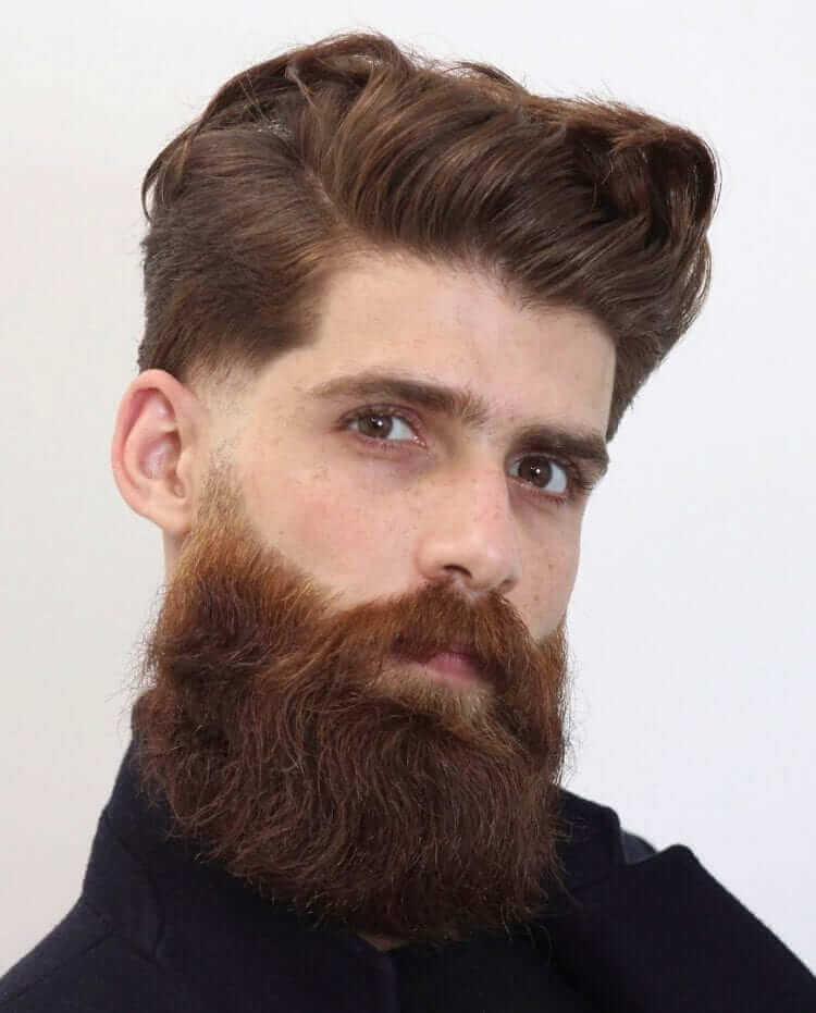 Faded Side Burns Beard
