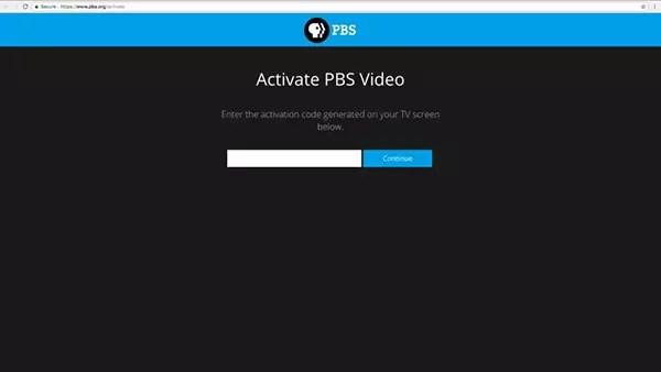 Samsung PBS Activate