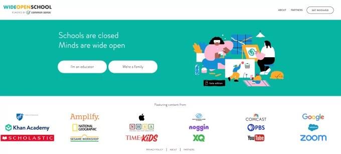 Wide Open School Website