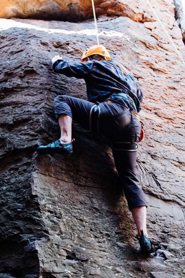 Rock Climbing Trip Taos Nm In Mexico