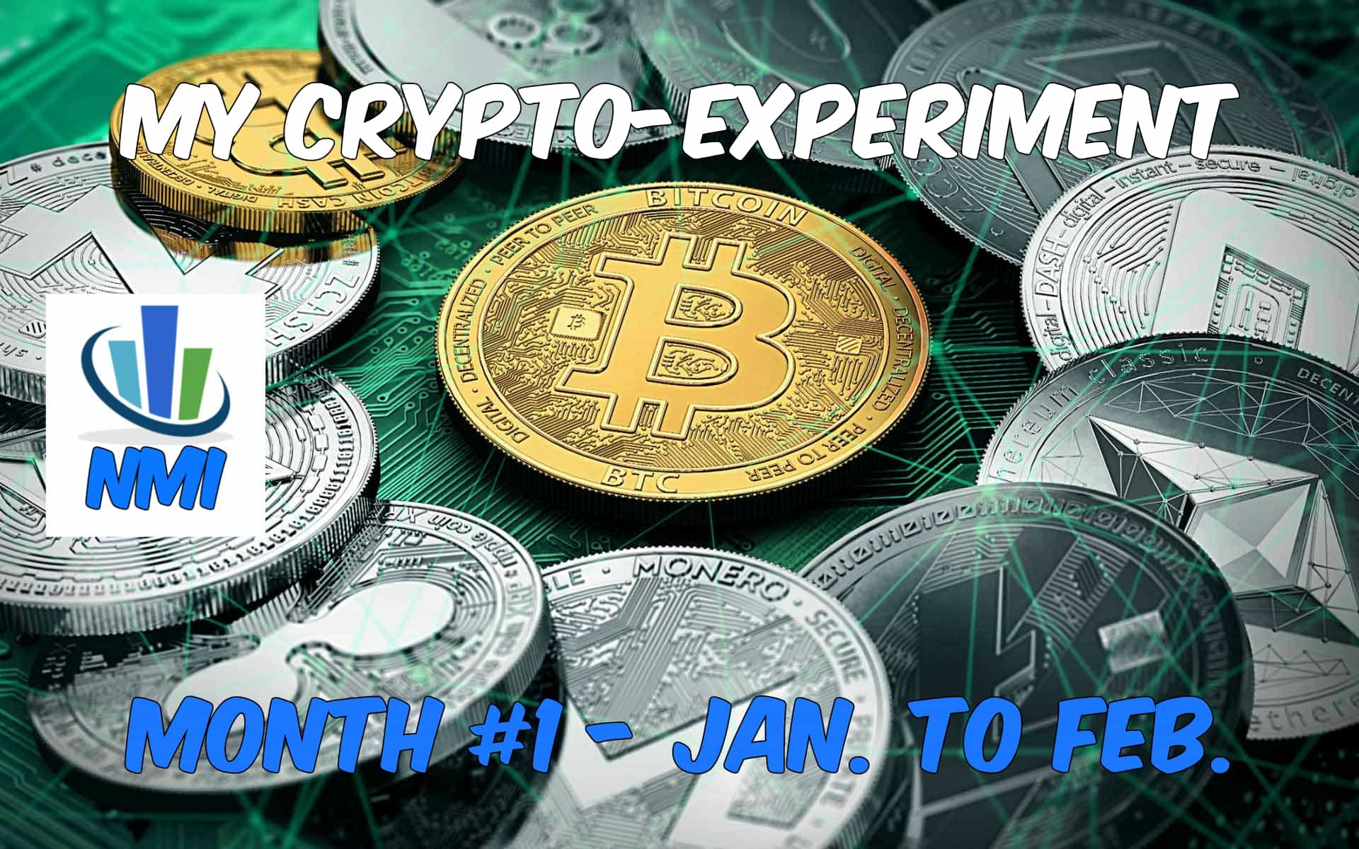 My Crypto-Experiment, Month #1 – Jan. to Feb. 2018