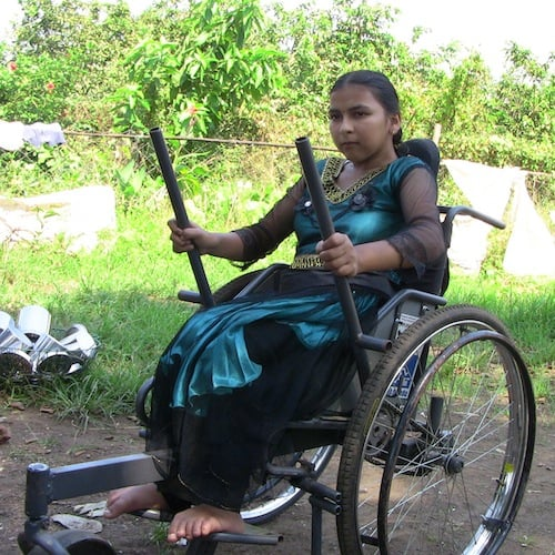 New lever chair changing lives  New Mobility