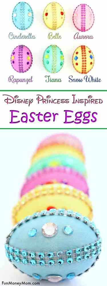 146833e2f66087 Disney Princess Easter Eggs - Planning on decorating Easter eggs for the  holidays? These pretty
