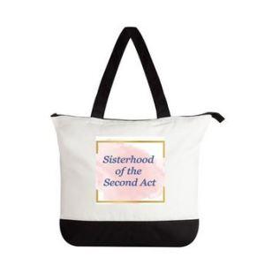 Sisterhood of the second act bag