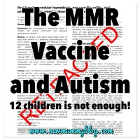 The MMR Vaccine and Autism - 12 children is not enough