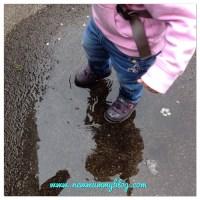#MySundayPhoto - discovering puddles