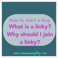 What is a linky? Why should I join linkies? | How to start a Blog
