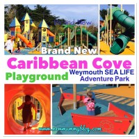 Caribbean Cove Playground at Weymouth SEA LIFE Adventure Park | REVIEW