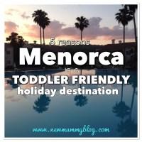 Toddler friendly holiday - Menorca