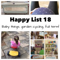 Happy List 18 - Cotswold Baby Show, Baby things and outdoor fun