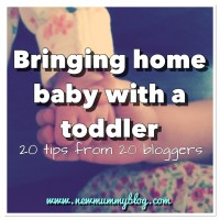 Bringing home baby with a toddler | 20 tips from 20 bloggers
