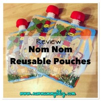 Nom Nom Kids Reusable Baby Food Pouches... Also for toddlers & big kids! | Review