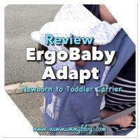 Ergobaby Adapt Baby Carrier Review - Sophie La Girafe Festival | Babywearing
