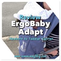 Ergobaby Adapt Baby Carrier Review - Sophie La Girafe Festival | Babywearing