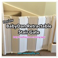 BabyDan Retractable Stair Gate - Best baby stair gate after 2 years of use! | Baby proof for a crawling baby
