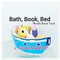 Bedtime routine - Bath Book Bed | #Win Peppa Pig & Book Trust Goodie Bag