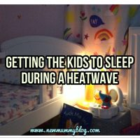 Getting the kids to sleep in a heatwave | What works for us and others