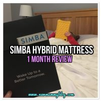 Simba Hybrid mattress review after one month | #SimbaSleep (+ £75 off Simba)