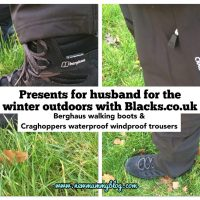Prepared for the outdoors with Blacks and Millets - presents for husband | Review