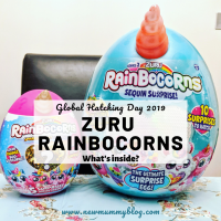 Rainbocorns Series 2... Global Hatching Day -what's inside?
