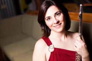 Shanna Gutierrez, flutist