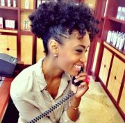 black natural hairstyles work
