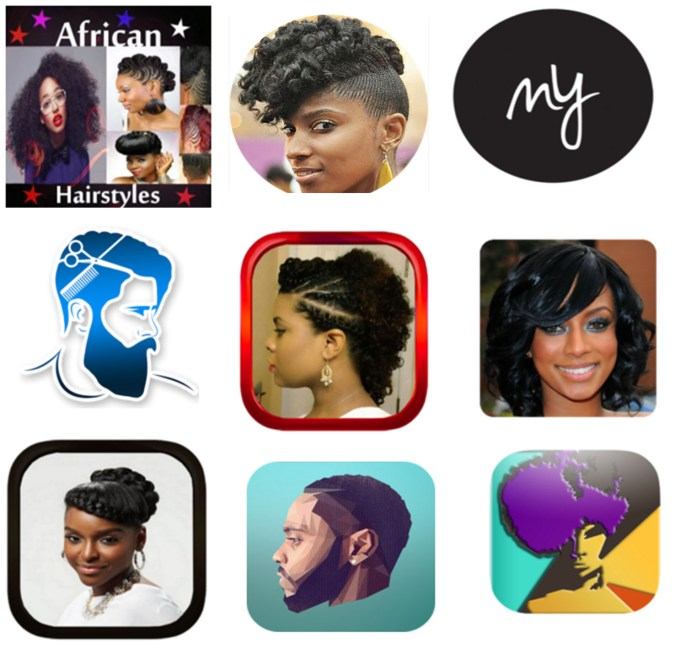 top 10 android apps for natural hair styles | hairstyles & haircuts